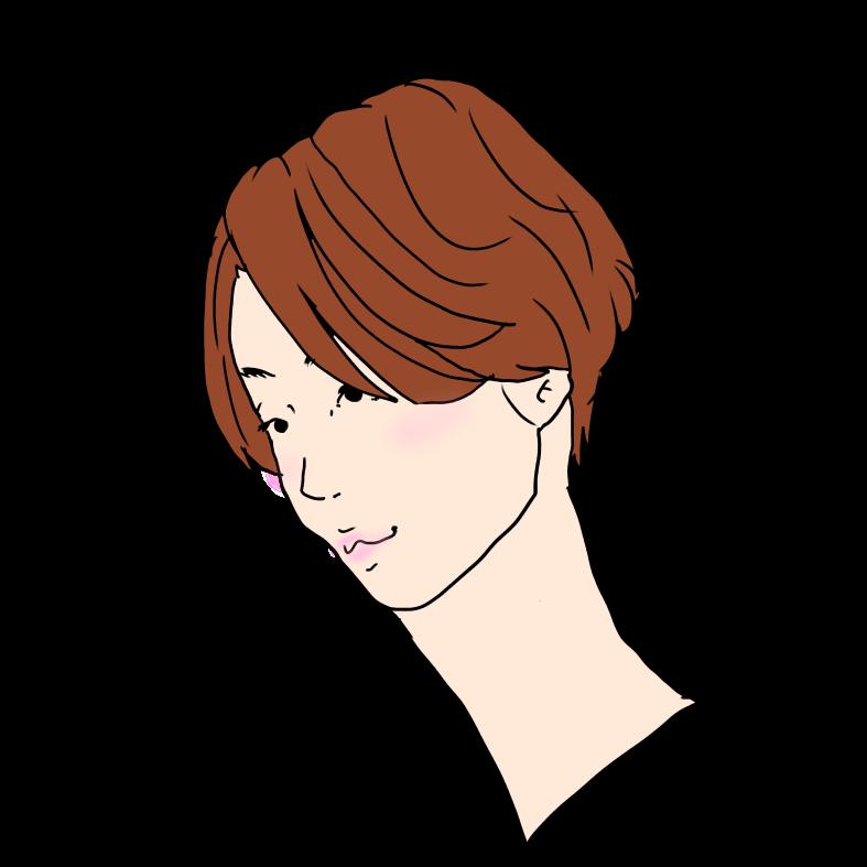 流す ハンサムショート髪型 ボブからショートヘア ヘアスタイル