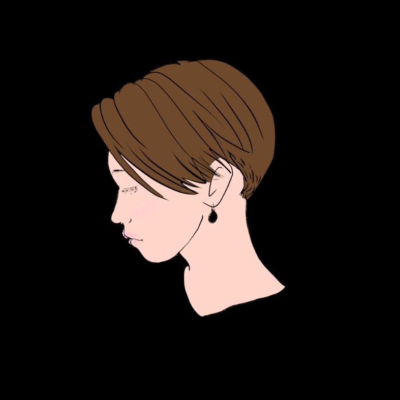 芯のある女性へ刈り上げたハンサムショートは魅力的 髪型 ヘアスタイル