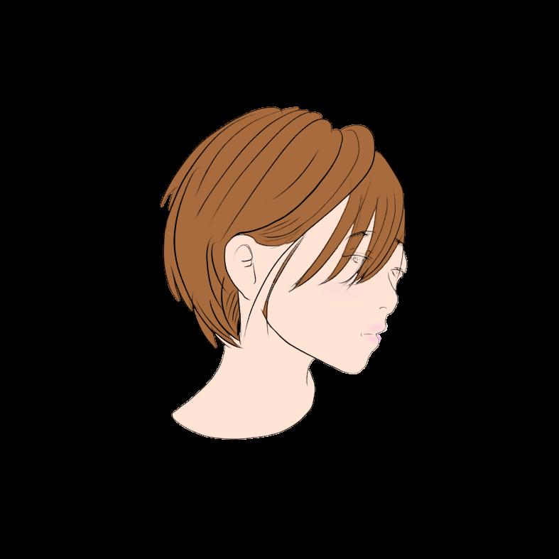 ハンサムショートとは少年のようなカッコ良さのある短い髪型の通称